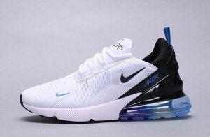 Mens womens winter nike air max 270 sneakers white black