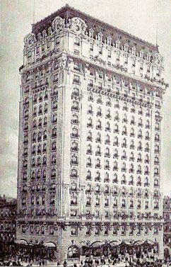 Old View Of The St Regis Hotel New York City