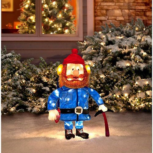 Lighted-Tinsel-Rudolf-Hermey-Yukon-Character-Christmas-Outdoor-Decor