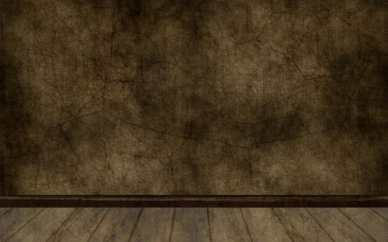 empty old room with grunge wall and wooden floor is simple vector which can be used like interior space for different elements or just like standard bac