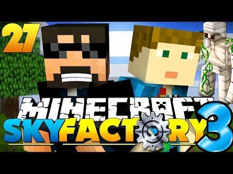 awesome Minecraft: SkyFactory 3 - IRON GOLEM MURDER! | For