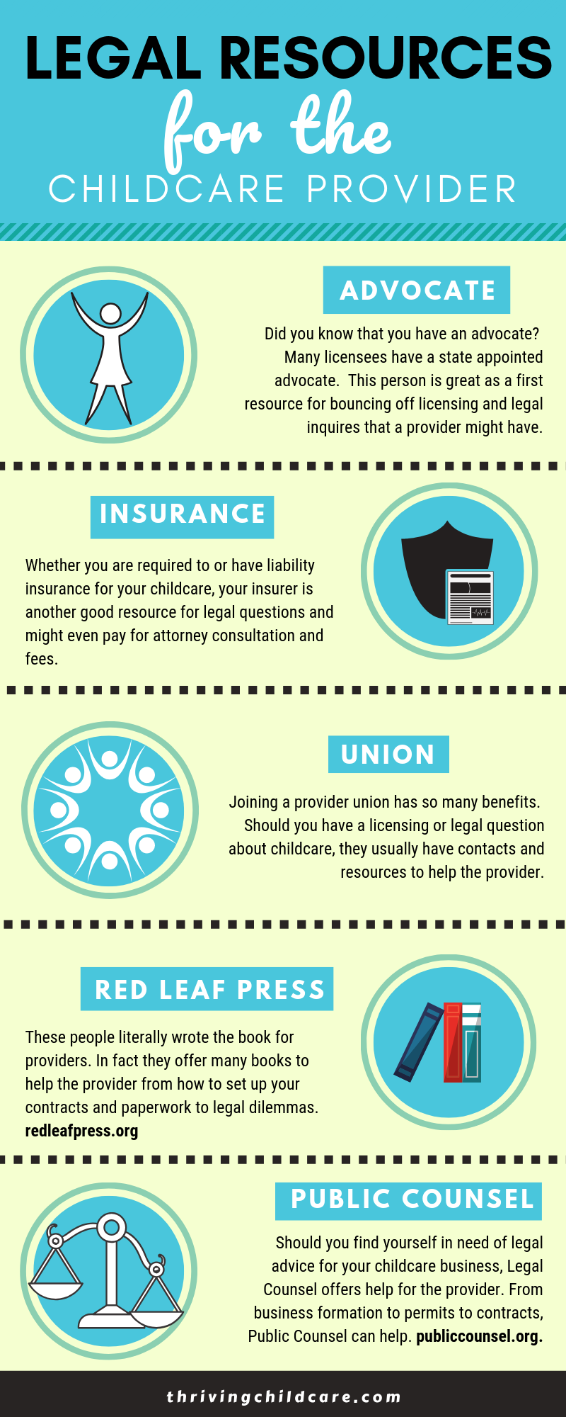 Absolutely Free Legal Resources For The Childcare Provider