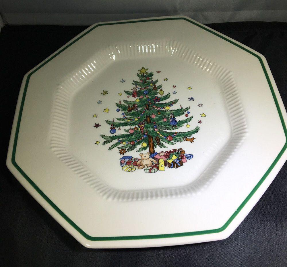 EC Nikko Christmastime Dinner Plate 10 3/4\