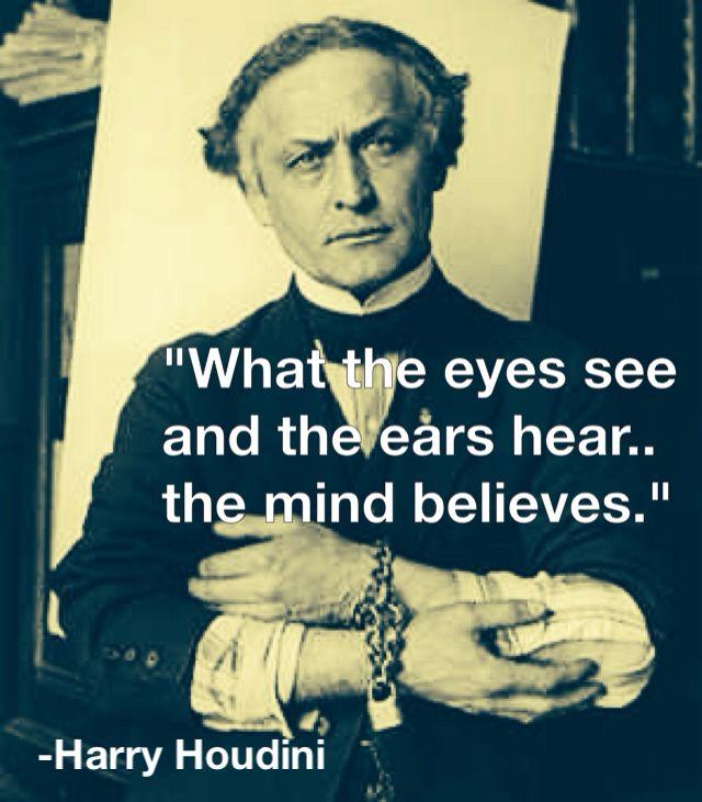Citaten Einstein : Harry houdini magical quotes magic en