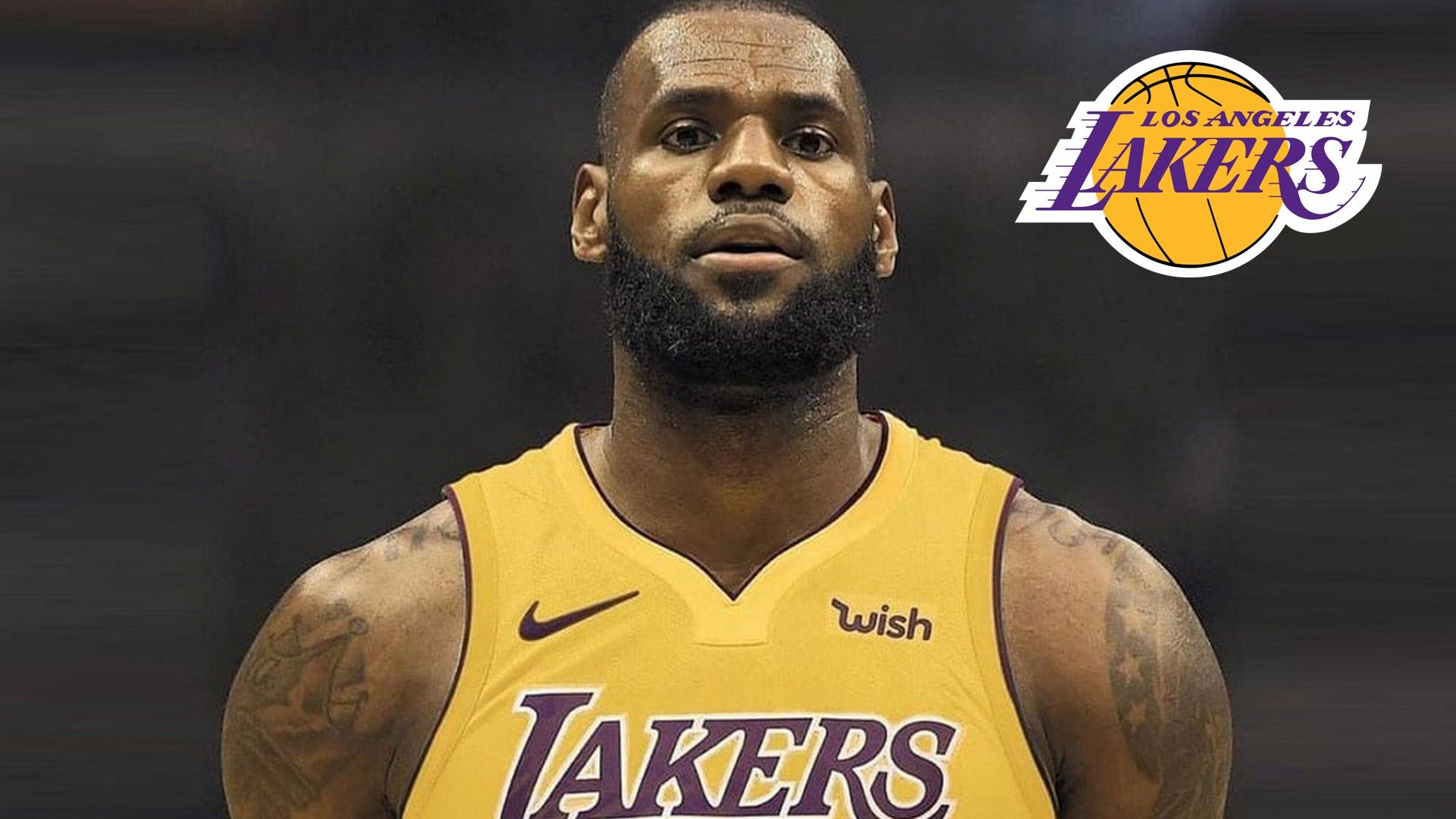 LeBron James Lakers Jersey Wallpaper is the perfect High