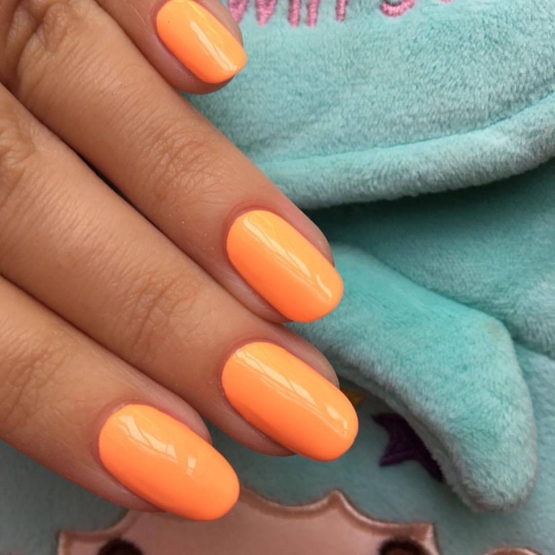 I Scream Nails - Melbourne Nail Art : Photo Neon Peach | Nails ...