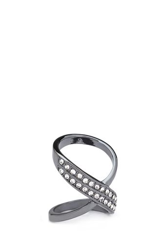 Rhinestone Infinity Ring from FOREVER 21 on Catalog Spree, my personal digital mall.