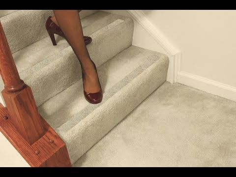 Best No Slip Strips Carpeted Stairs Carpet Stairs How To 400 x 300