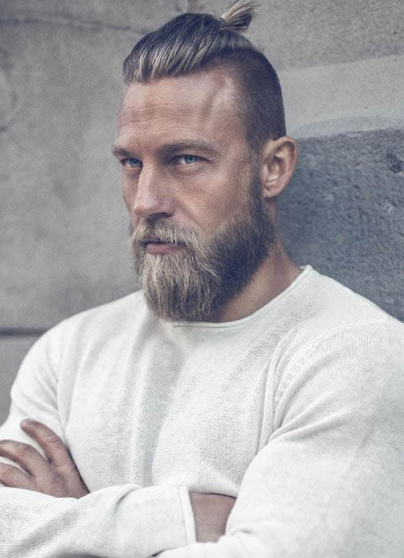 40 Coolest Viking Hairstyles Most Sought Trendy Haircut For Men Beard Haircut Viking Hair Hair And Beard Styles