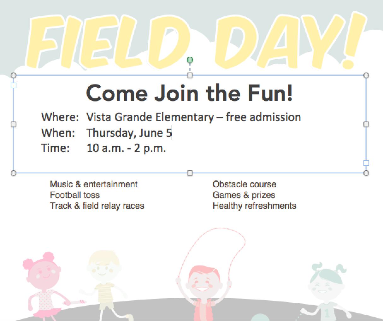 Field Day Flyer Field Day Flyer Day
