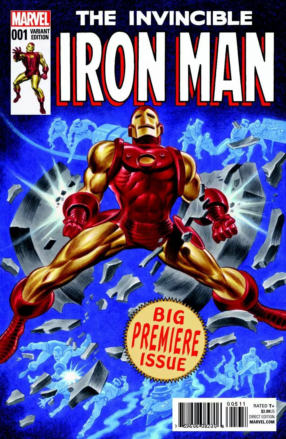 The Invincible Iron Man by Bruce Timm *