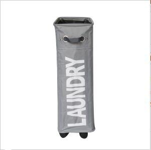 Shushi Heavy Duty Collapsible Laundry Basket Bag Oxford Slim