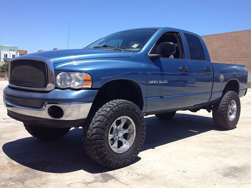 2003 Dodge Ram 1500 Slt Quad Cab Short Bed 2wd Suspension