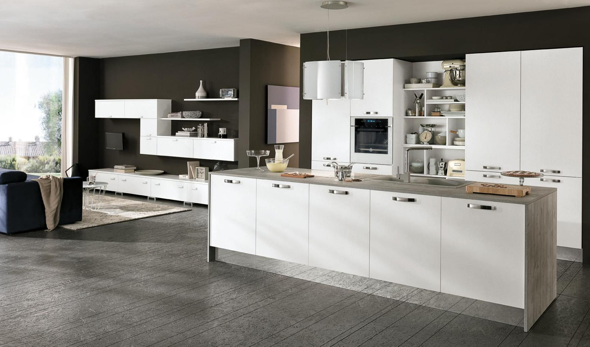 Cucina Berloni Modello Quadra Quadra Kitchen 2015 Edition White Colombini Casa