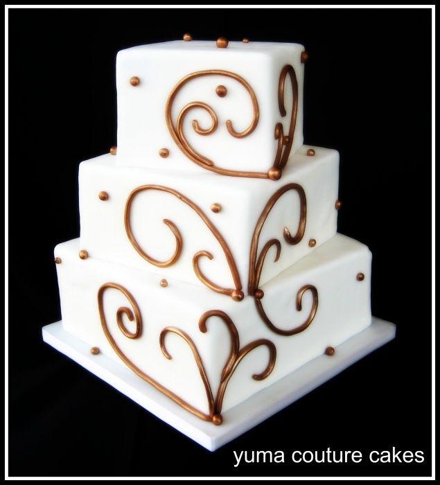 Cakes in yuma arizona great scroll work simple elegant yuma couture cakes custom wedding and birthday cakes in yuma arizona junglespirit Gallery