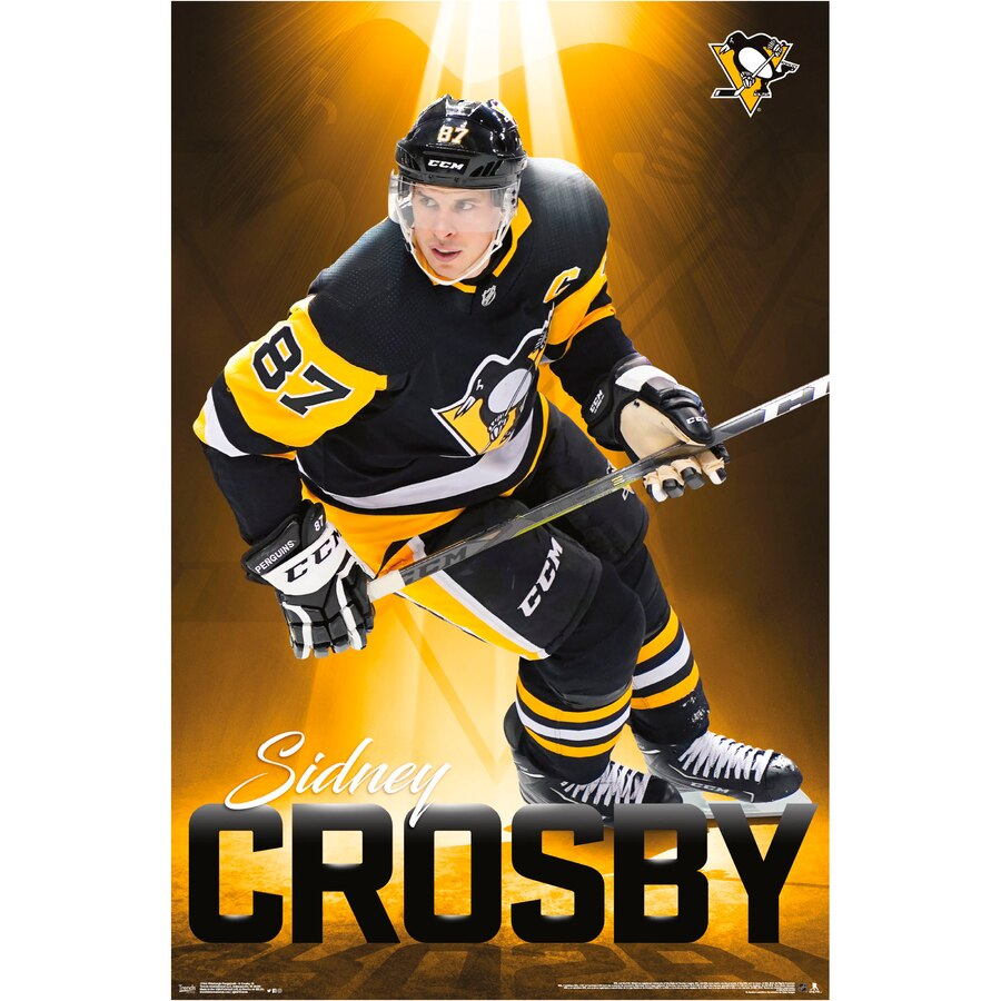 Pittsburgh Penguins Sidney Crosby 22.4'' x 34'' NHL Players Poster