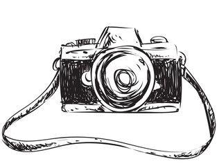 Camera Doodle Illustration Camera Doodle Doodle Illustration Doodle Cartoon