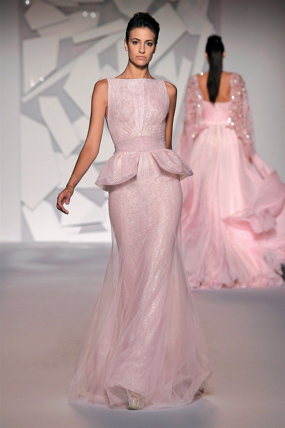 Abed Mahfouz - collection Haute Couture Fall-Winter 2012-2013 This gown is heavenly! (=)