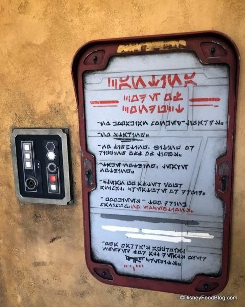 IT'S TIME To Enter Oga's Cantina in Disney's Star Wars: Galaxy's Edge! #disneyfoodblog