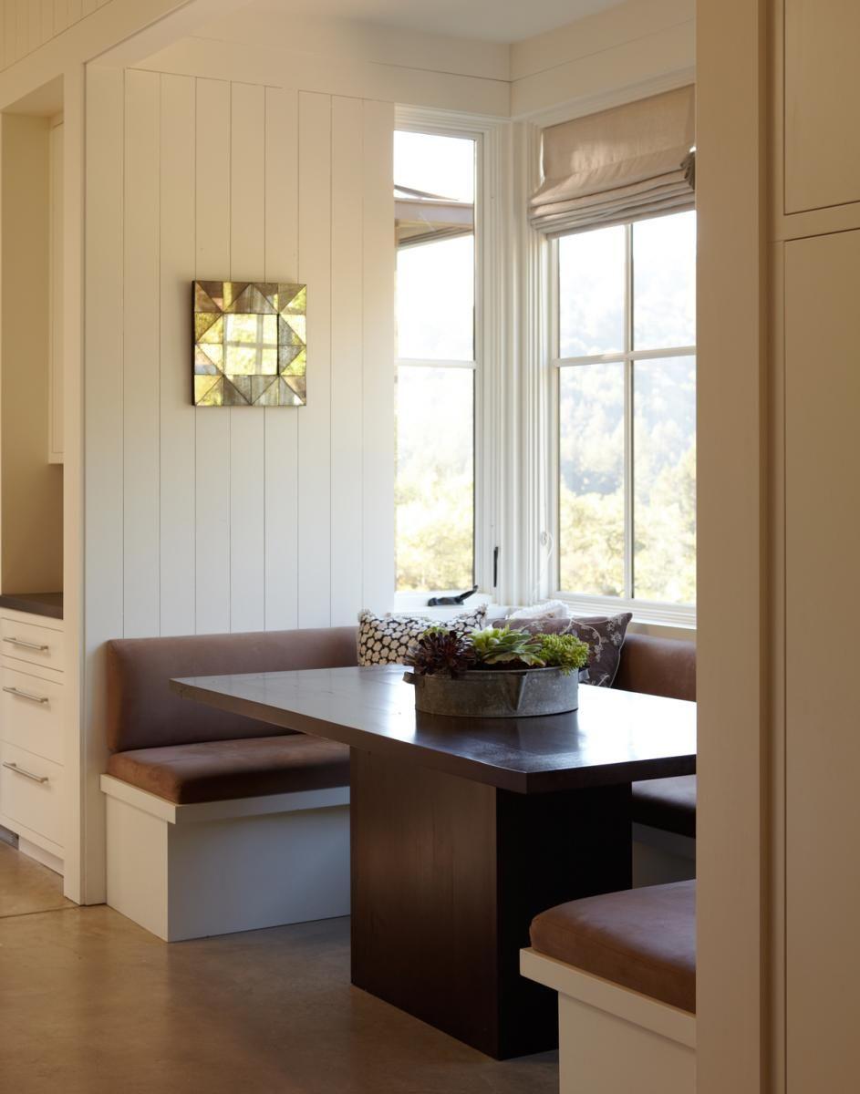 Breakfast alcove. I love a good built-in. | Dream Home | Pinterest ...