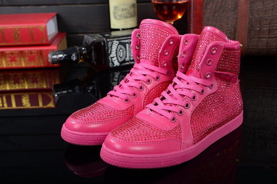 gucci schuhe pink sneaker. Black Bedroom Furniture Sets. Home Design Ideas