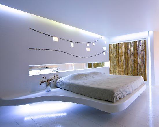 Modern bedroom lighting | Light in architecture | Pinterest ...