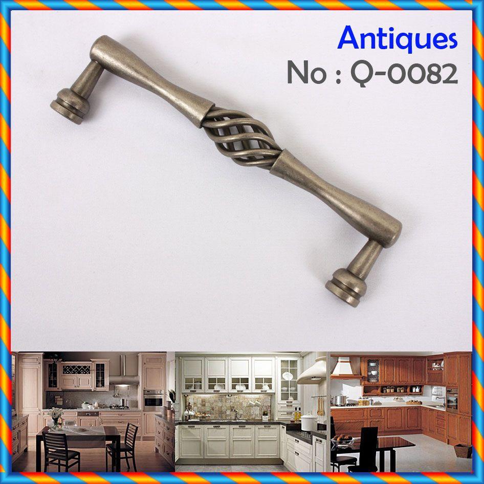2 IRON ANTIQUE PEWTER Furniture Kitchen Door Handles