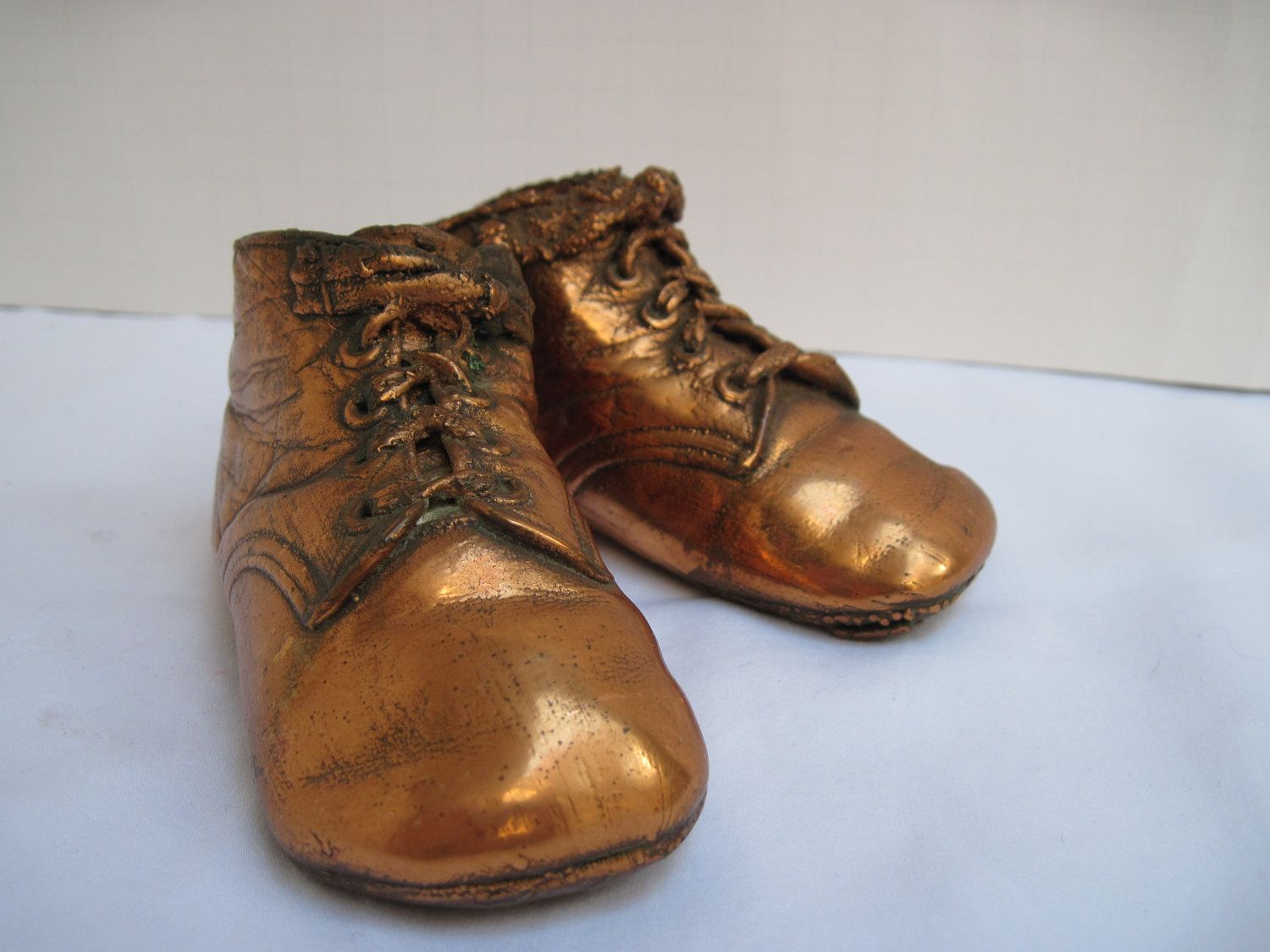 Bronze Dipped Baby Shoes I still have