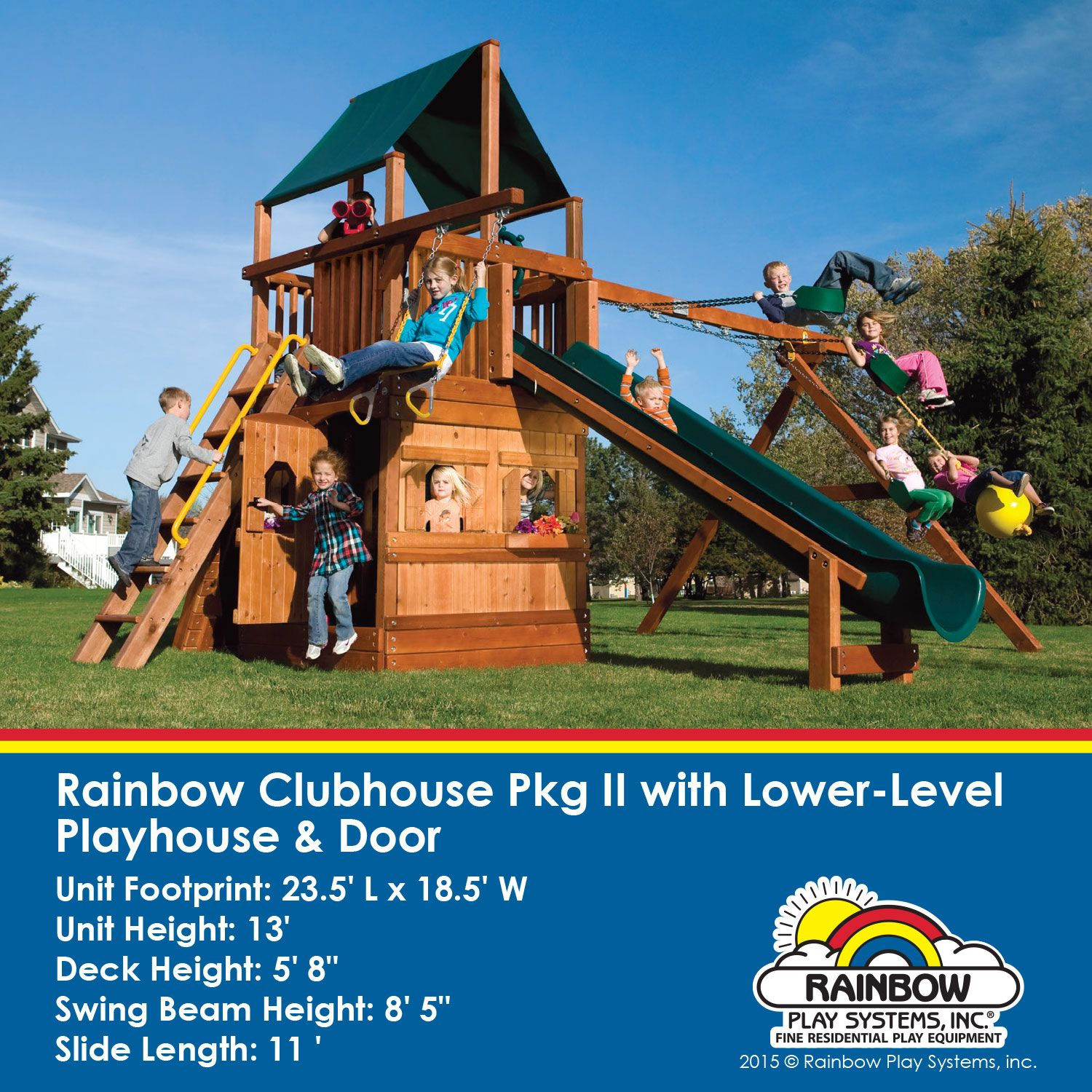 This Will Provide Your Kids Hours Of Outdoorplay