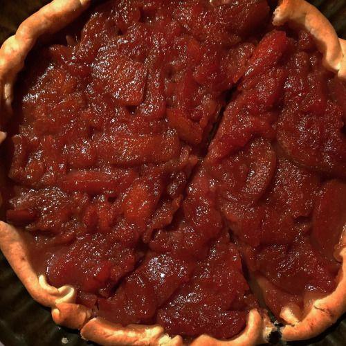 cuisinedemememoniq:  Tarte aux pommes (préparation stérilisée)...
