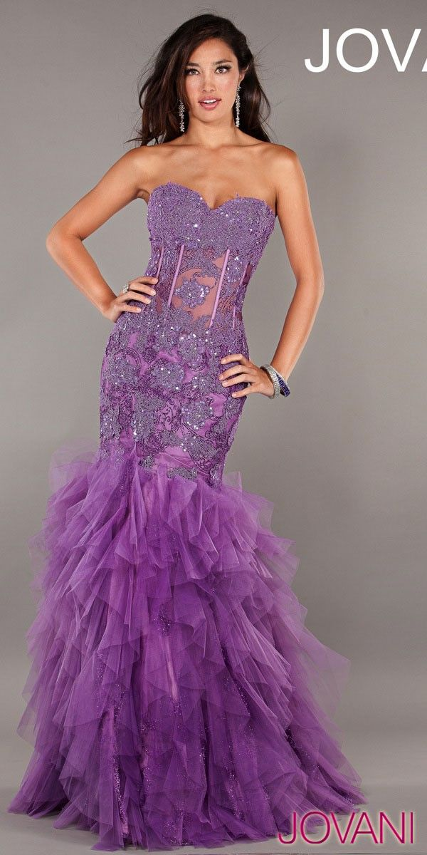 Cheap Sexy Sweetheart Beaded Chiffon Empire Purple Cocktail Dress ...