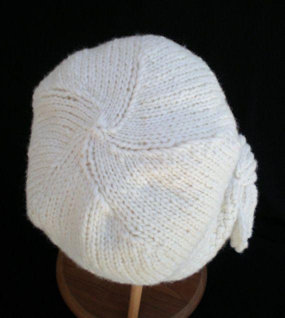 PDF Pattern Women Knit Cloche Hat - Flapper Cloche Hat | Sombreros ...