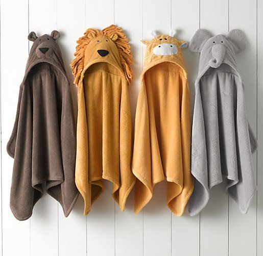 handtuch mit tierkapuze f r neugeborene animal hooded towel newborn tier kinder the. Black Bedroom Furniture Sets. Home Design Ideas