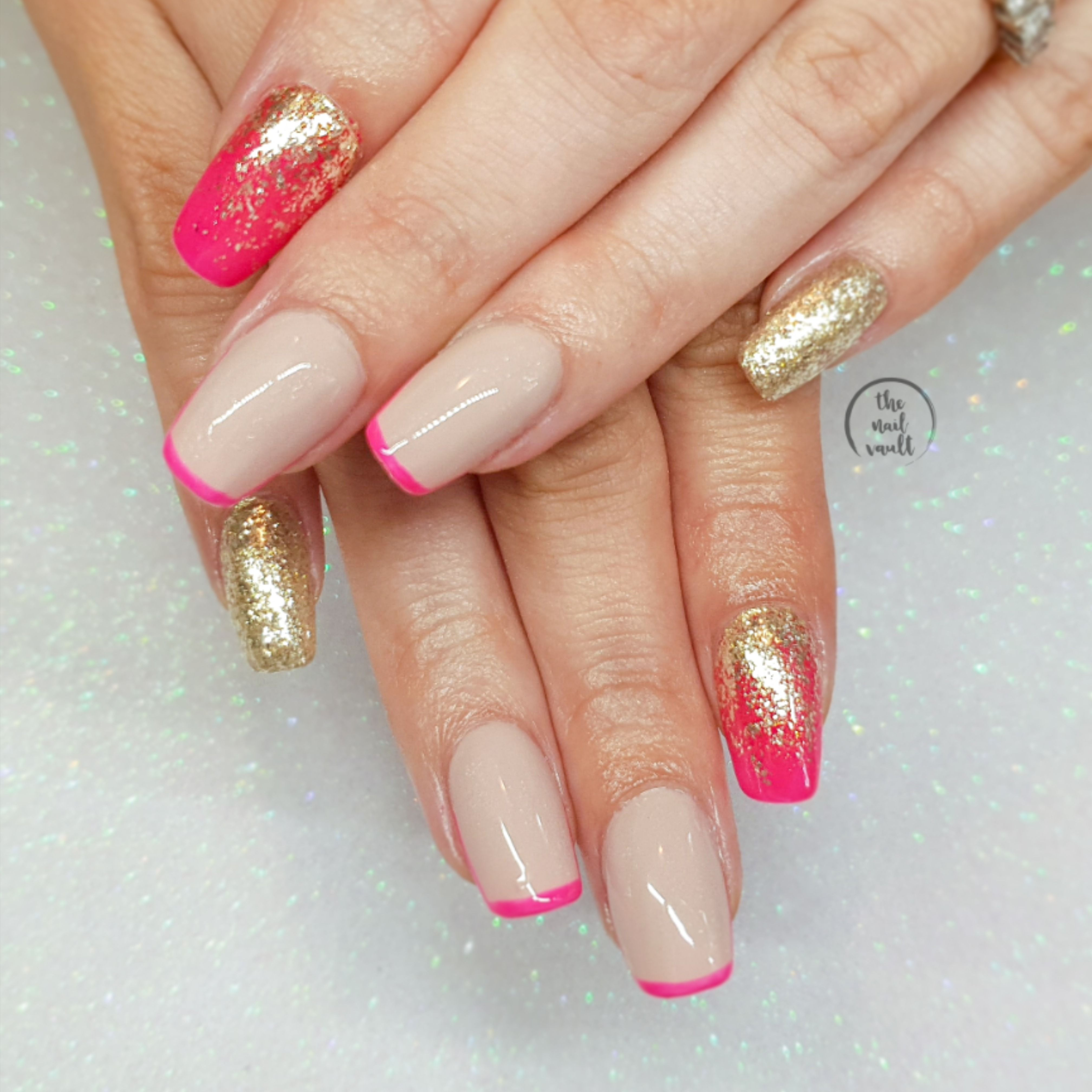 Hand Painted Acrygel Nails By Serena The Nail Vault Www
