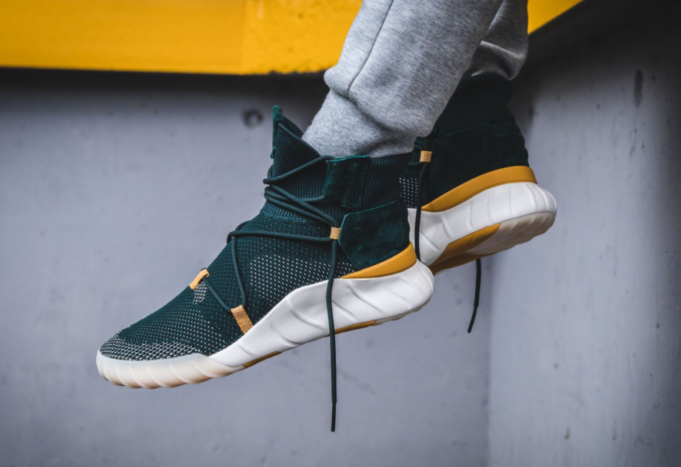 3d026a3b6cc Get The adidas Tubular X 2.0 Primeknit Green Night Now - check out this  awesome Sneakers on thenoticecentre.com