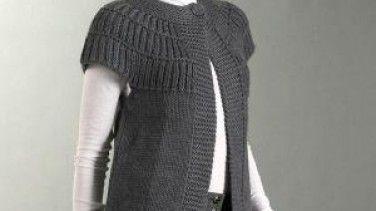 Yakadan Baslama Bayan Yelek Yapilisi Crochet Jacket Free Chunky Knitting Patterns Chunky Knitting Patterns