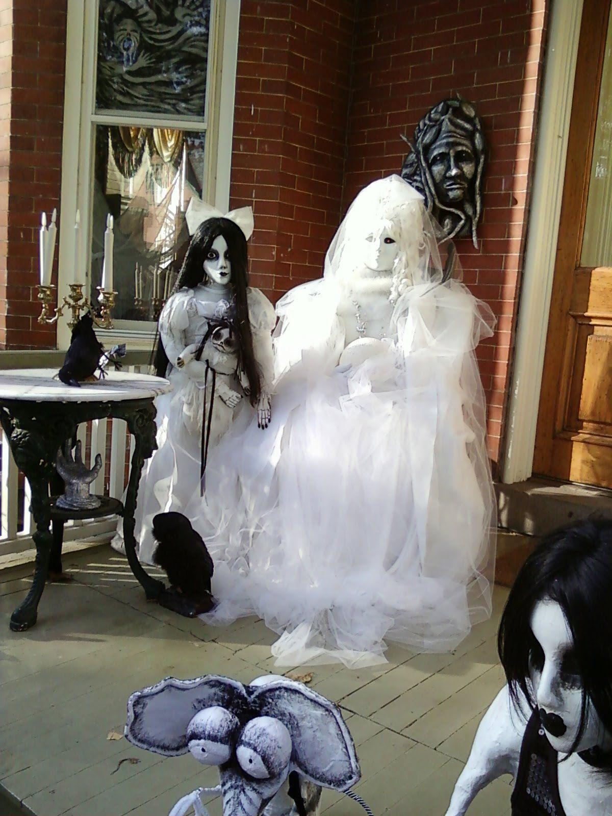 My Little World Halloween in Black  White!!! Halloween - black and white halloween decorations