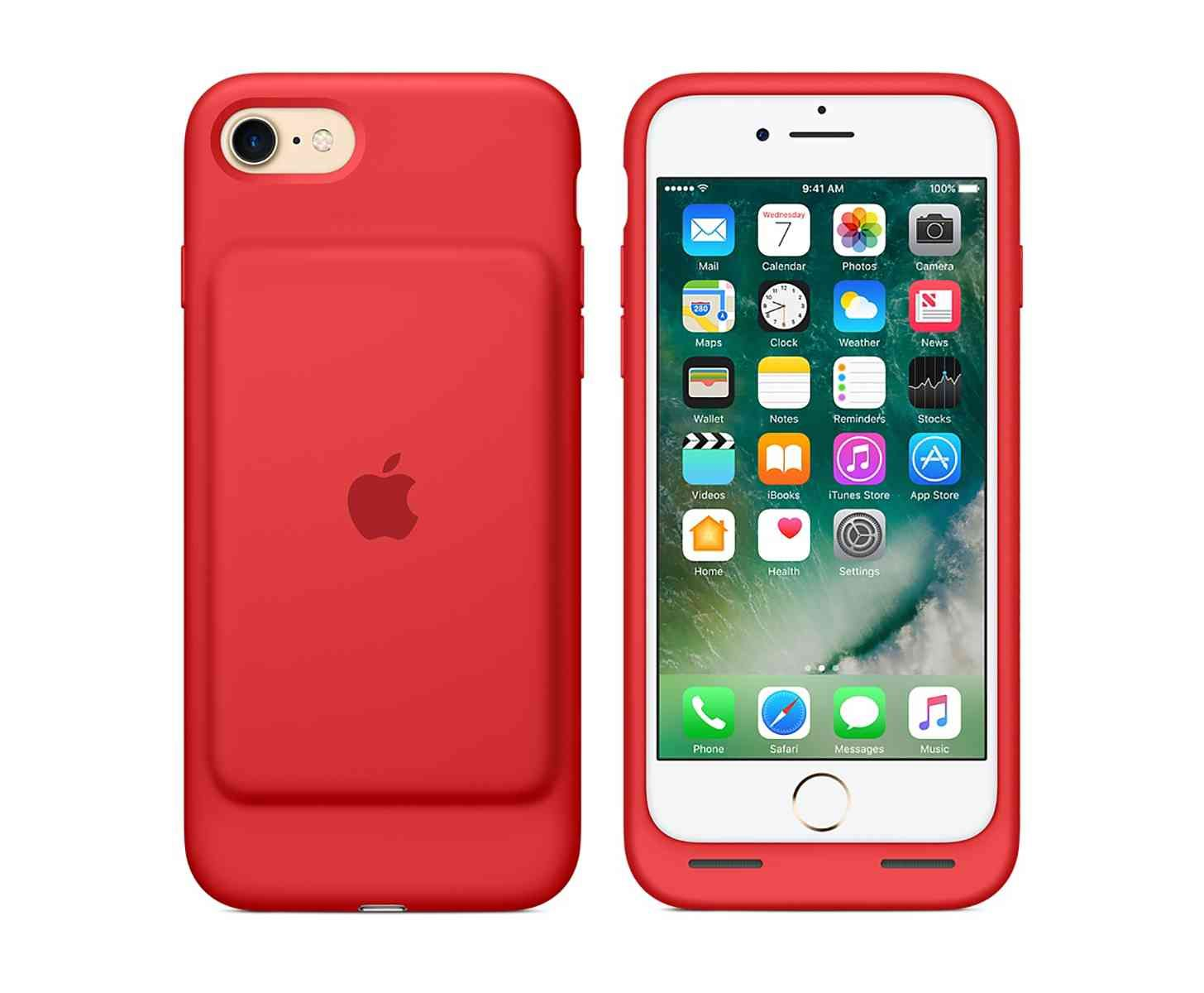 Apple Selling Red Iphone 7 Smart Battery Case Other Accessories For Product Red Iphone Apple Iphone Case Apple Iphone