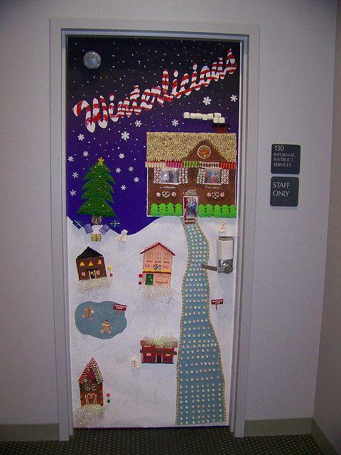 Work Door Decorating Contest Christmas Door Decorations