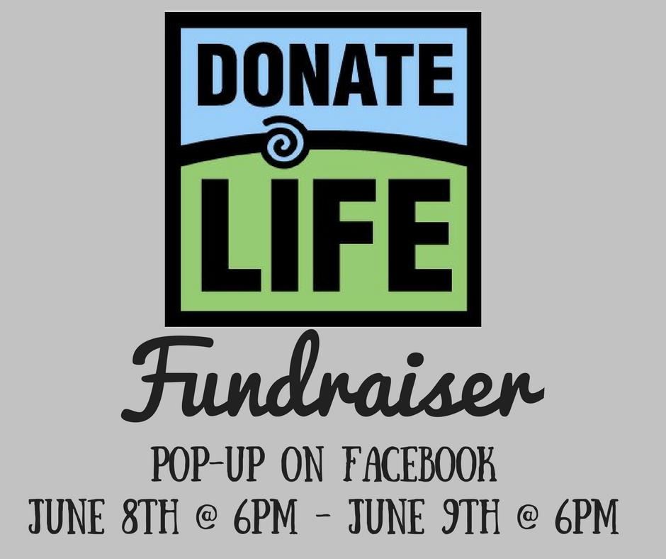 LuLaRoe Fundraiser Donate life, Organ donation awareness