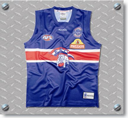 Western Bulldogs club & AFL champion Chris Grant Signed Hall of Fame Guernsey $199.95