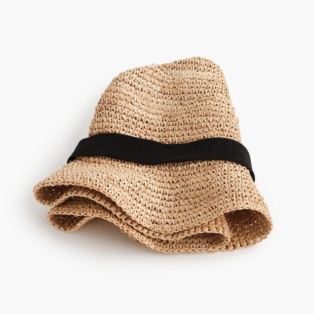 286bacaf327358 packable straw hat : women scarves, hats & gloves | Packing for ...