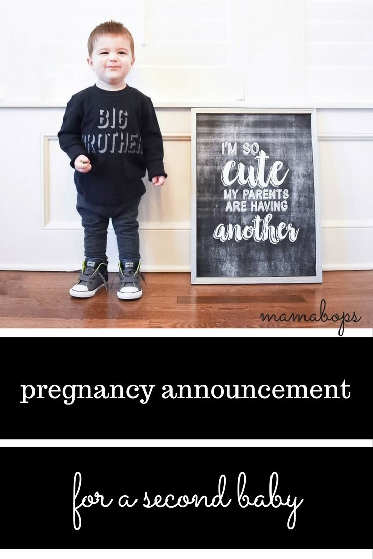 This Mom Announced Her Second Pregnancy In the Most Hilarious Way recommend