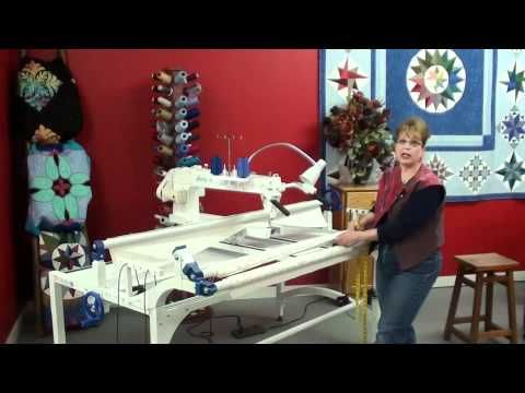 ▷ Attaching Quilt to Phoenix Frame with Janie Part 1 - YouTube ...
