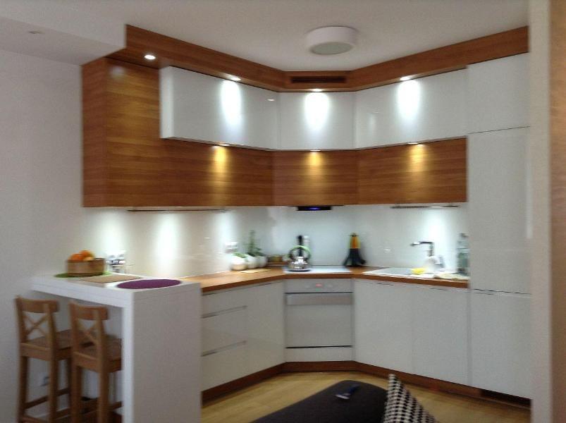 Biało Drewniana Kuchnia 2 Inspiracje W 2019 Kuchnia I