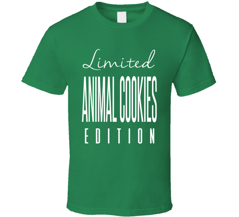 Animal Cookies Limited Edition Hybrid Strain Cannabis Weed T Shirt