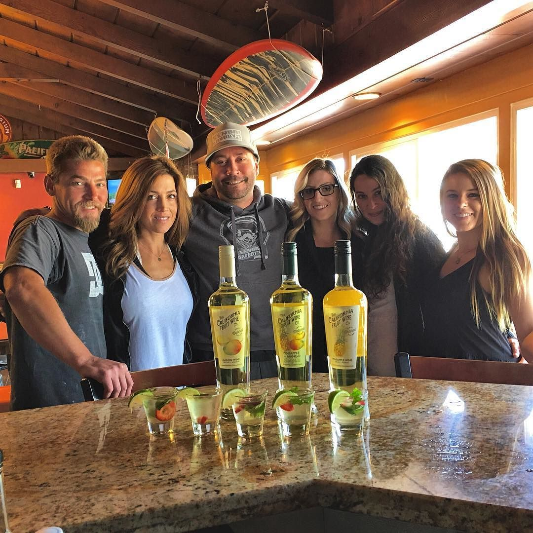 @careylyn & @jachura living the good life drink tasting with the lovely ladies of @cfwco  and our good friend Korey.  New summer drinks coming soon!  #Cocktails #Sampling #Wine #cfwco #SenorGrubbys #SanDiego #Oceanside #Carlsbad #Encinitas #Vista #Community  #Local #SupportLocalBusiness by senorgrubbys