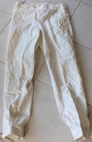 """@fencinguniverse : Vtg 1930's french Costello Fencing pants nickers cotton canvas Men's 36""""Wx35""""L  $19.99 (0  http://bit.ly/29N66wQ http://bit.ly/2a6Vpcl"""