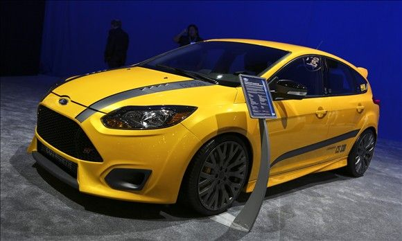 Ford At The 2012 Sema Show Ford Focus St Ford Focus Ford Racing