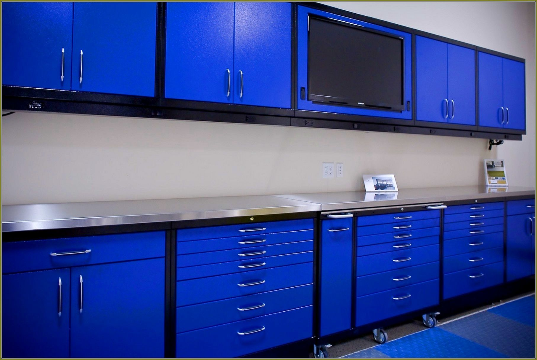 Blue Hawk Metal Garage Cabinets Garage Cabinets Home Depot Garage Storage